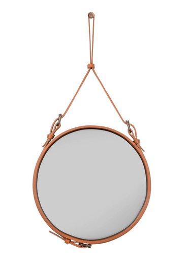 GUBI Adnet mirror leder