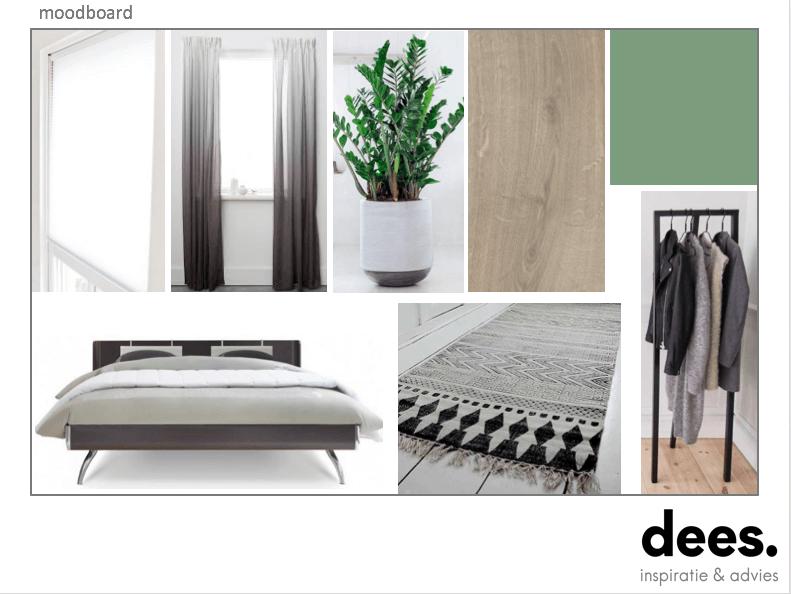 Moderne slaapkamer in Hoogland