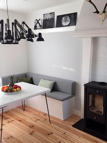 Complete opbouw en inrichting woonkamer