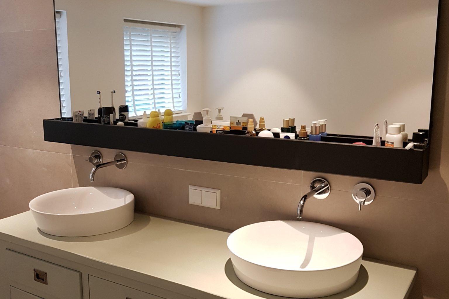 Extra brede badkamerspiegel