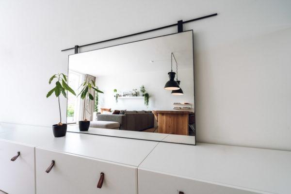 Spiegel met roede