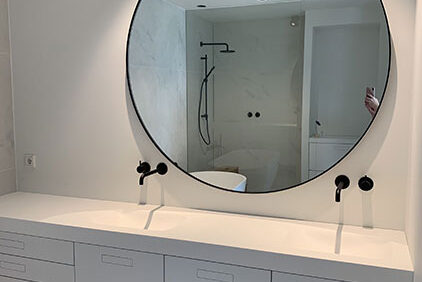 XL ronde spiegel