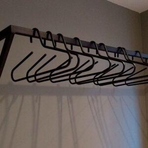 Kapstok Y vormig van staal