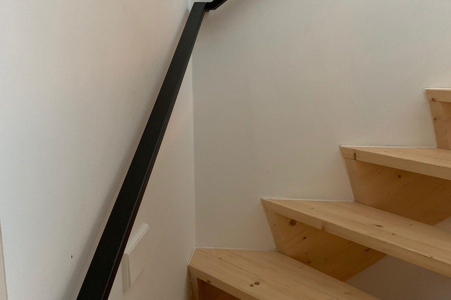 Doorlopende trapleuning