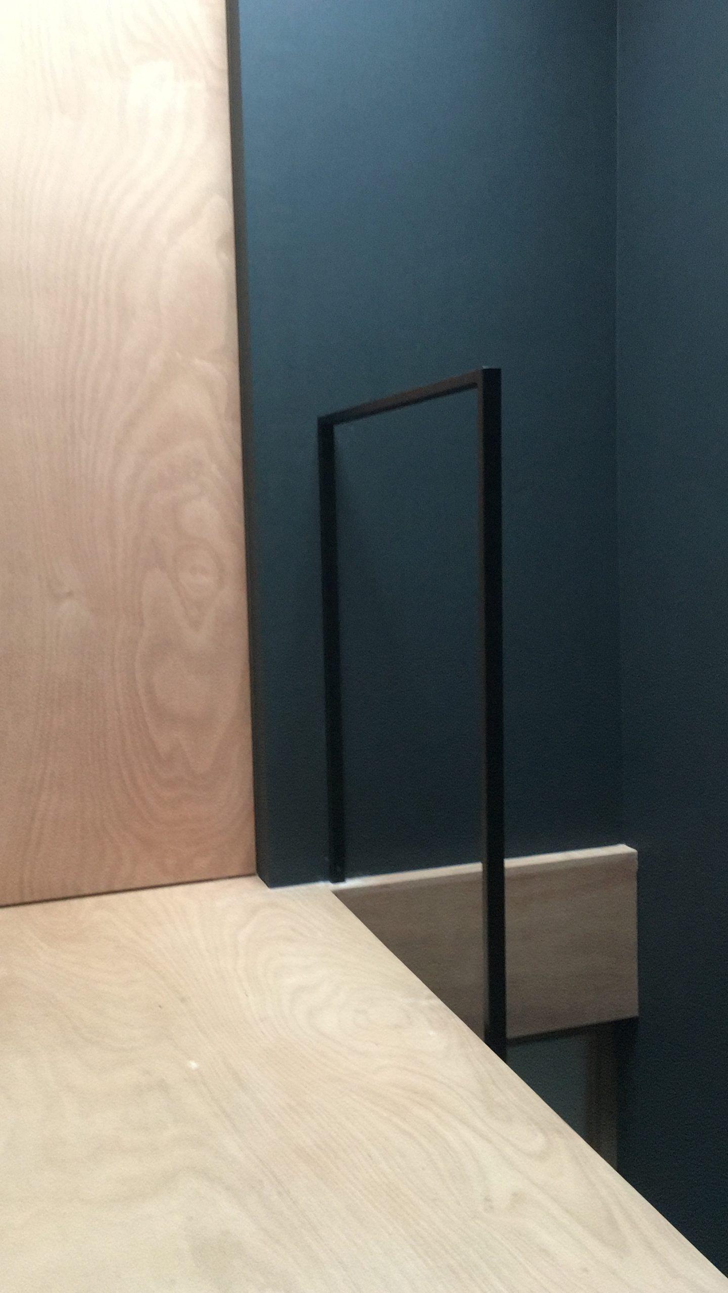 design balustrade zwart