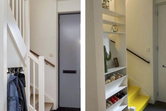 Hal opfrissen met een gele trap